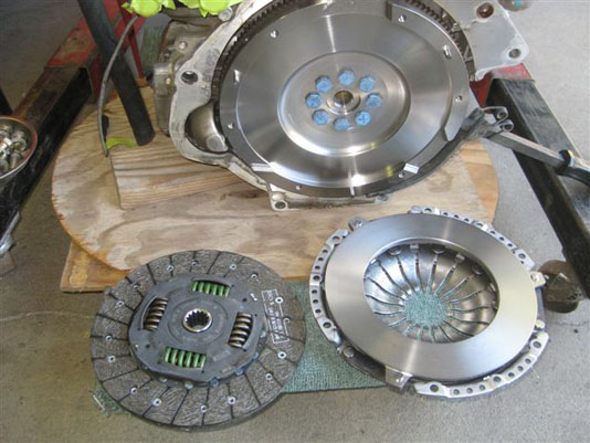 New clutch components