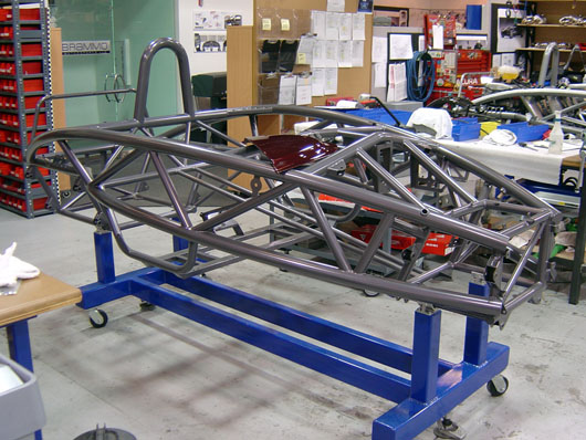 how to build a custom car chassis