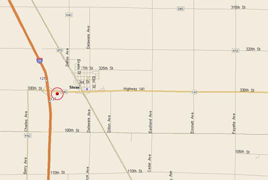 Sloan Mystery Map